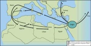 Fiebre Mediterránea Familiar - Mapa