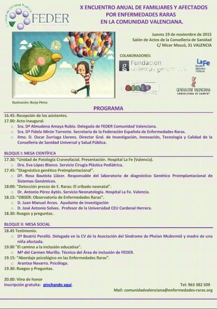 Programa Jornada Socio Sanitaria CV