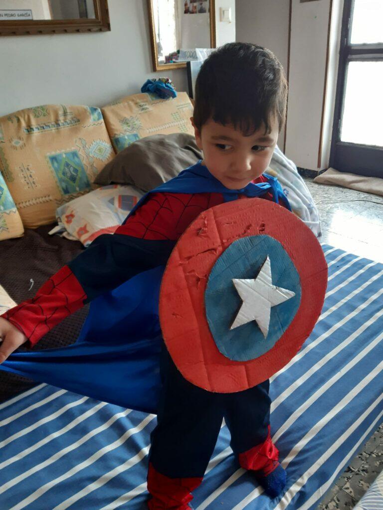 Juan Pedro, hijo de Soraya, afectado de Síndrome PFAPA